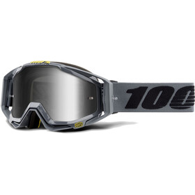 100% Racecraft Anti Fog Mirror Goggles grå